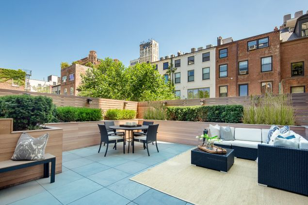 Opens onto this landmarks-approved rooftop terrace. (Travis Mark/Sothebys)