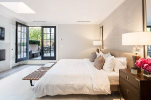 The master bedroom... (Travis Mark/Sothebys)