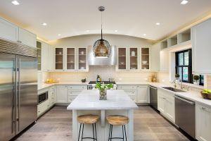 The kitchen is palatial. (Travis Mark/Sothebys)