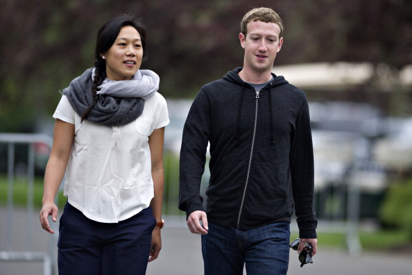 Could Facebook founder Mark Zuckerberg and his wife Priscilla Chan be the mystery buyers of a West Village townhouse? (Daniel Acker/Bloomberg via Getty Images)