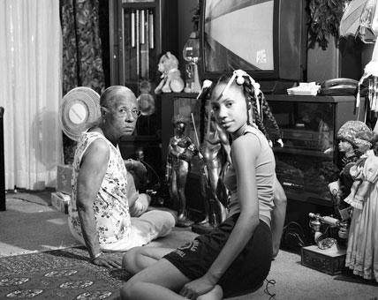 LaToya Ruby Frazier, Grandma Ruby and Me, 2005. (Photo: © LaToya Ruby Frazier, courtesy Brooklyn Museum)