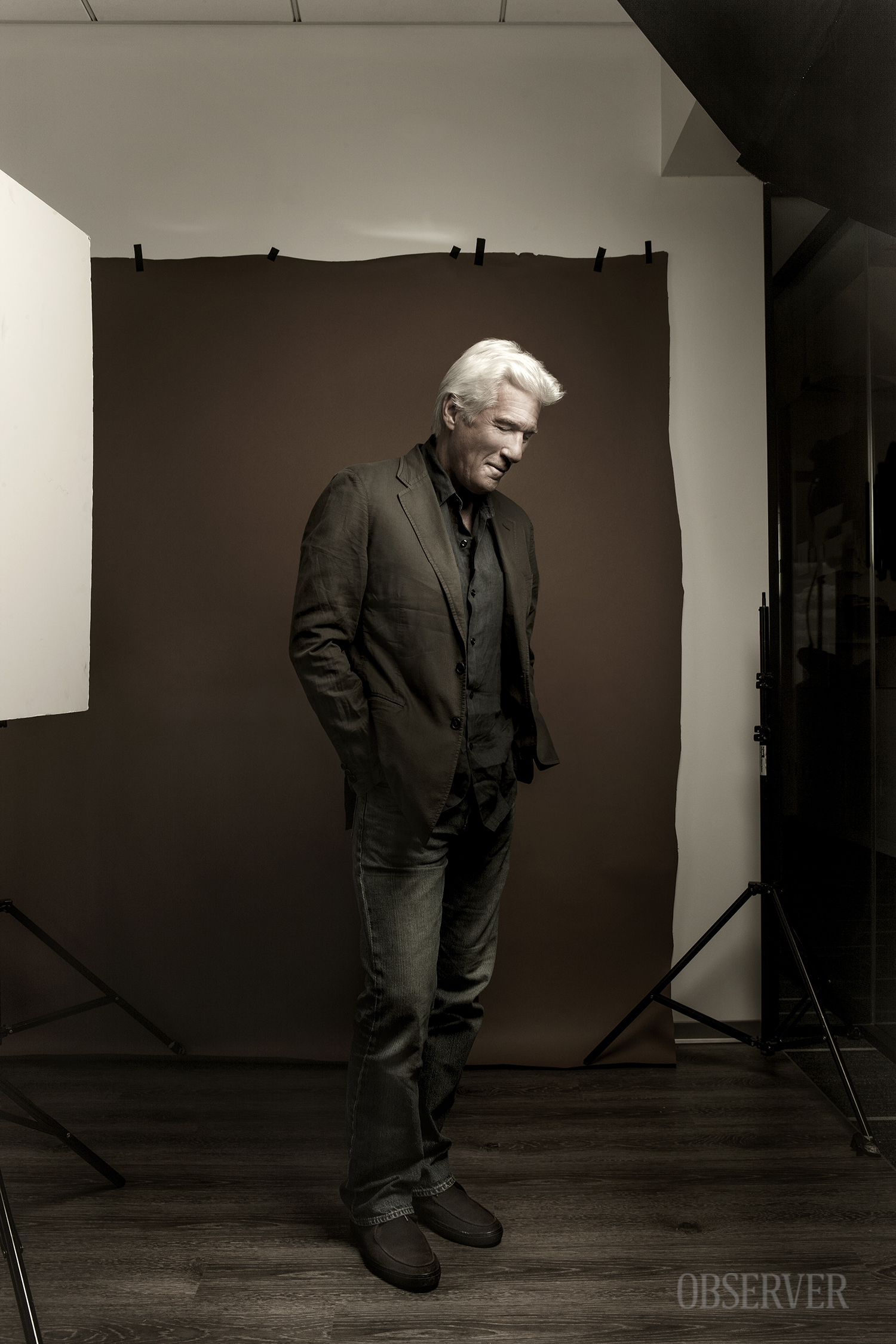 Richard Gere. (Photo: Jason Blake/Observer)