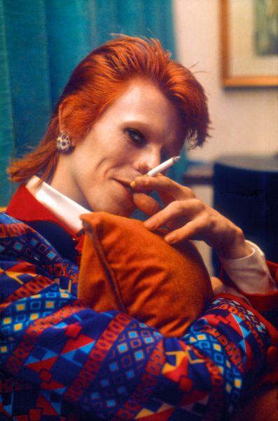 Bowie by Mick Rock.