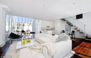 The Tribeca penthouse Daniel Craig purchased for an all-cash $1.9 million after Cheryl Eisen staged it. (Dan Bates)