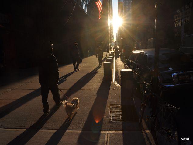 New York mornings seem slower (Photo Getty Images).