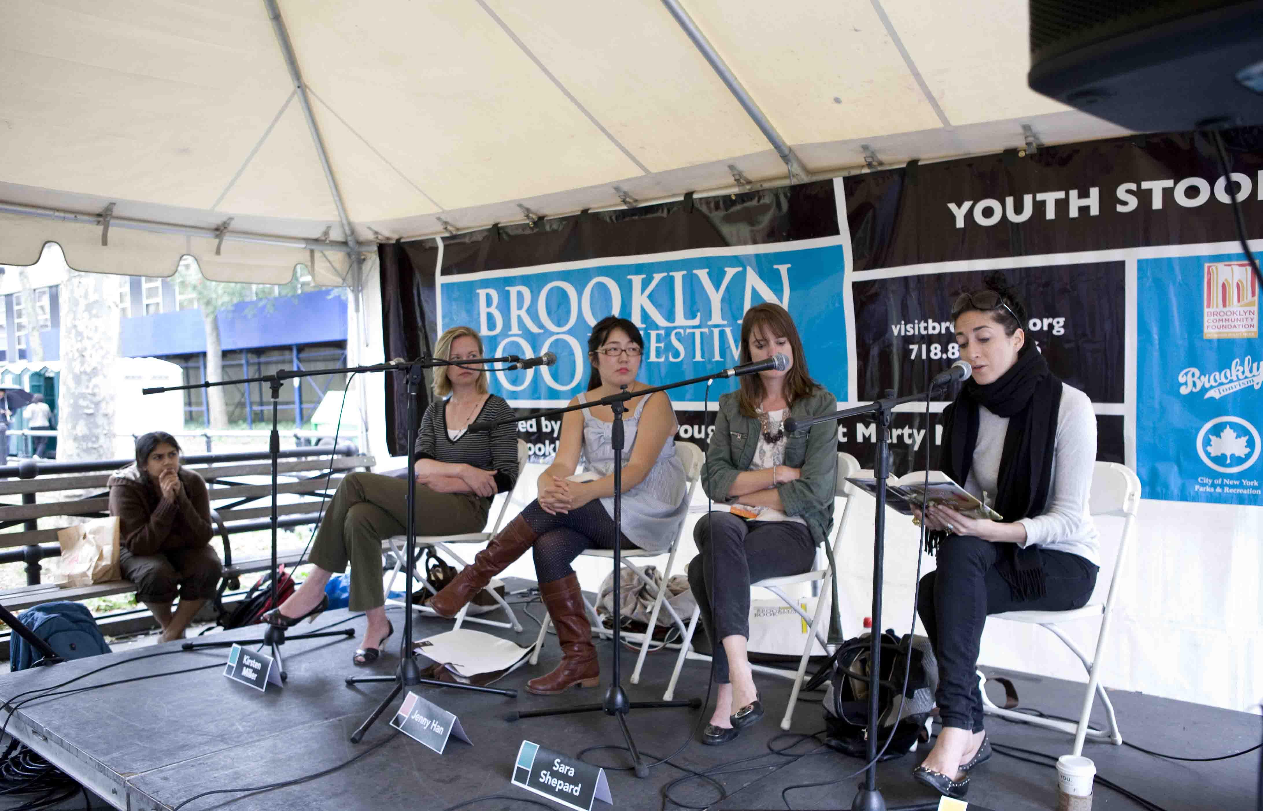 The Brooklyn Book Festival 2014.