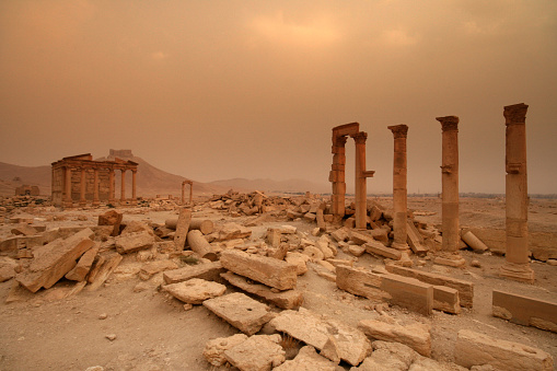 The Funerary Temple at Palmyra in Syria. (Photo: Joe & Clair Carnegie/Libyan Soup, via Getty Images)