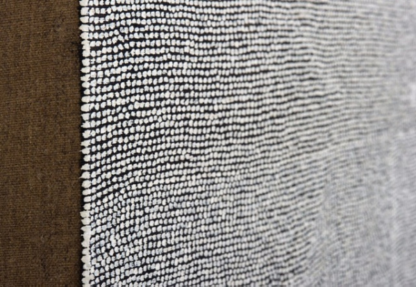 A detail of a Jennifer Guidi painting. (Photo: Courtesy of LA><Art, Los Angeles, CA)