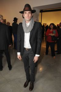 Alexander Yulish==JOHN CURRIN AT GAGOSIAN GALLERY BEVERLY HILLS==Gagosian Gallery, Beverly Hills, CA==February 19, 2015==©Patrick McMullan==Photo - DAVID CROTTY/PatrickMcMullan.com====