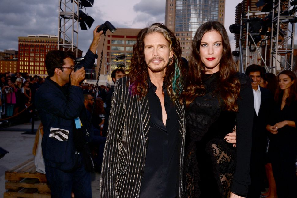 Steven Tyler, Liv Tyler (Photo: Clint Spalding for Patrick McMullan).