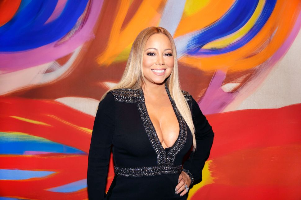 Mariah Carey (Victor Hugo for Patrick McMullan)