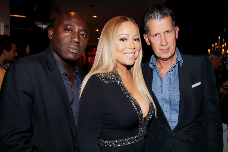 Mariah Carey, Stefano Tonchi (Victor Hugo for Patrick McMillan)