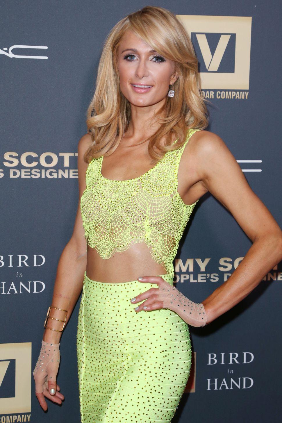 Paris Hilton (Photo: Jimi Celeste for Patrick McMullan).