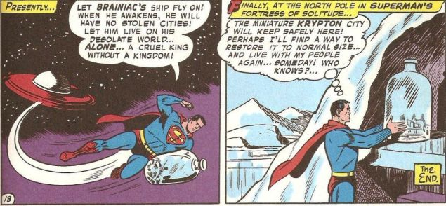 The first appearance of Kandor in Action Comics #242, (1958). (Photo: Via iFanboy)
