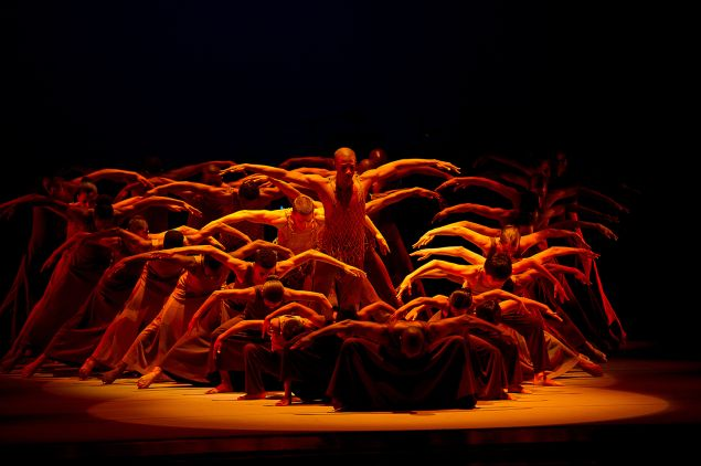 Alvin Ailey's Revelations. (Photo by Christopher Duggan)