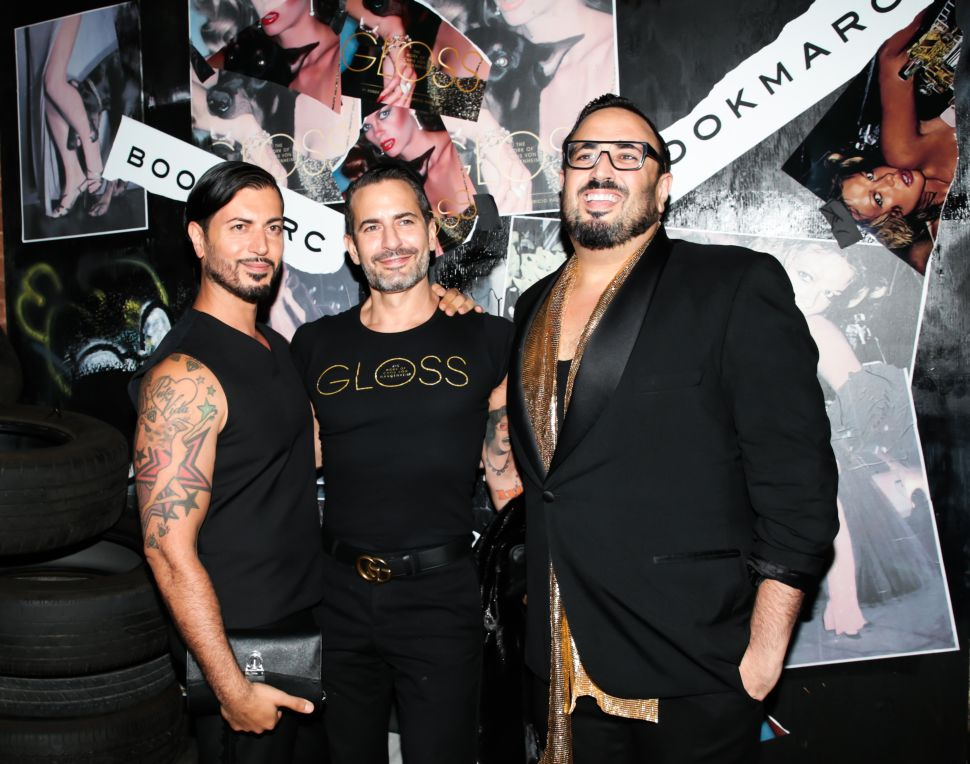 Roger Padilha, Marc Jacobs, Mauricio Padilha (Photo: BFA).