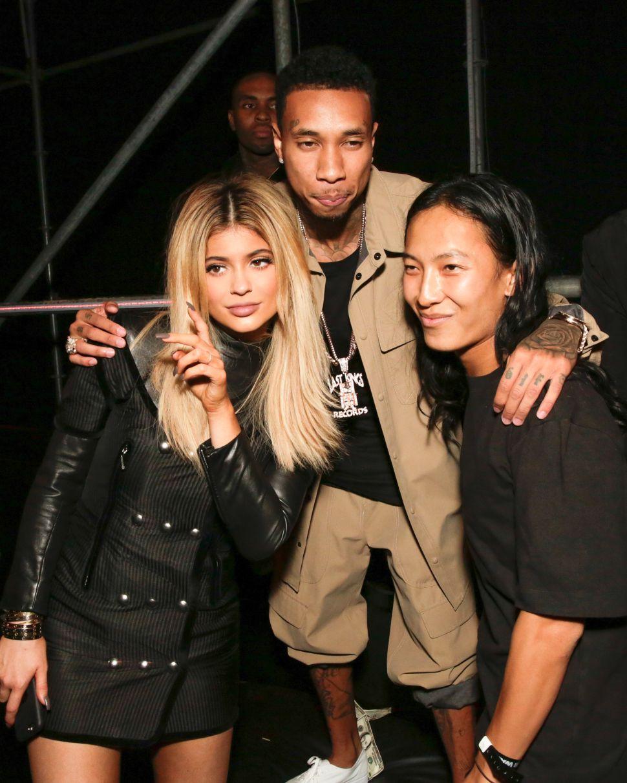 Alexander Wang, Tyga, Kylie Jenner (Photo: BFA).