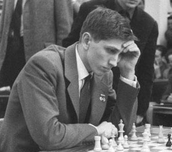Bobby Fischer in Leipzig, 1960. (Courtesy: Wikipedia)