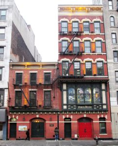 The Bowery Mission, located at 227 Bowery.