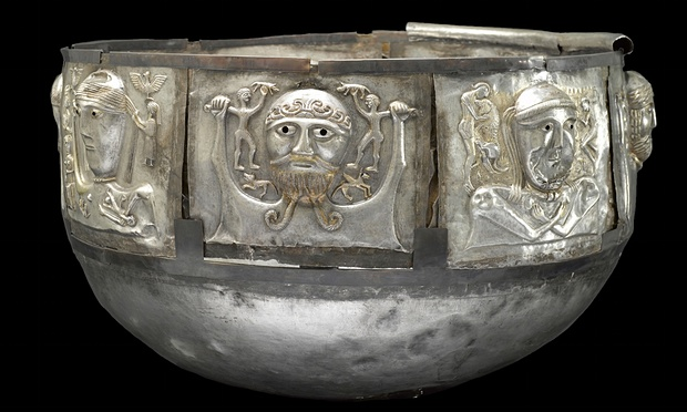 "A piece from ""Celts: Art and Identity,"" at the British Museum. (Photo: Courtesy the British Museum)"