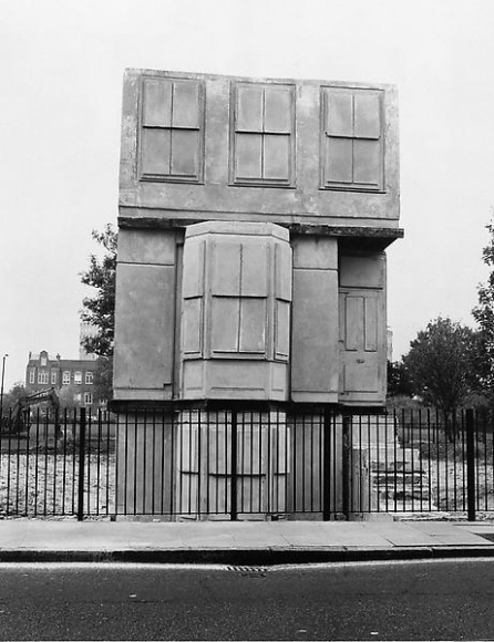 'House' 1993 by Rachel Whiteread. (Photo: Courtesy of Luhring Augustine)