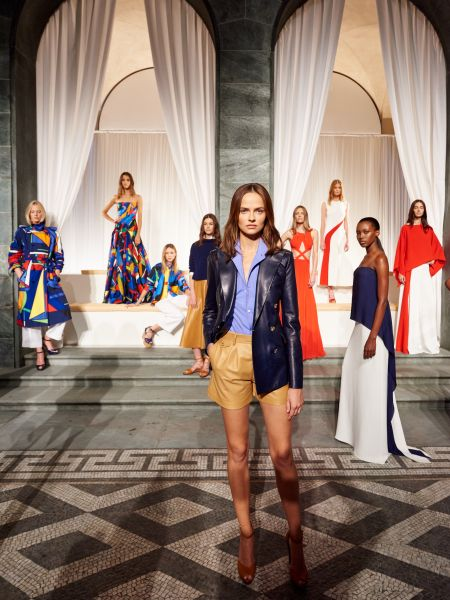 Ralph Lauren's Spring 2016 presentation, located at the Palazzo Ralph Lauren. (Photo: Ralph Lauren)