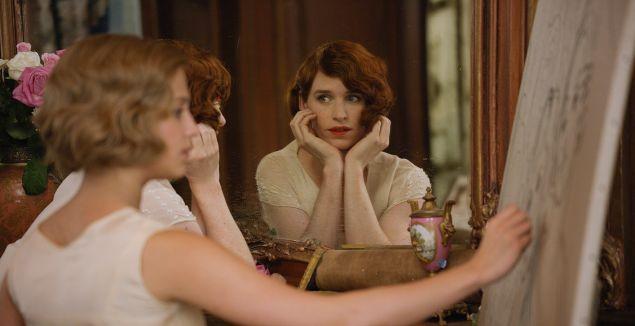 Eddie Redmayne as transgender pioneer Lili Elbe in The Danish Girl.