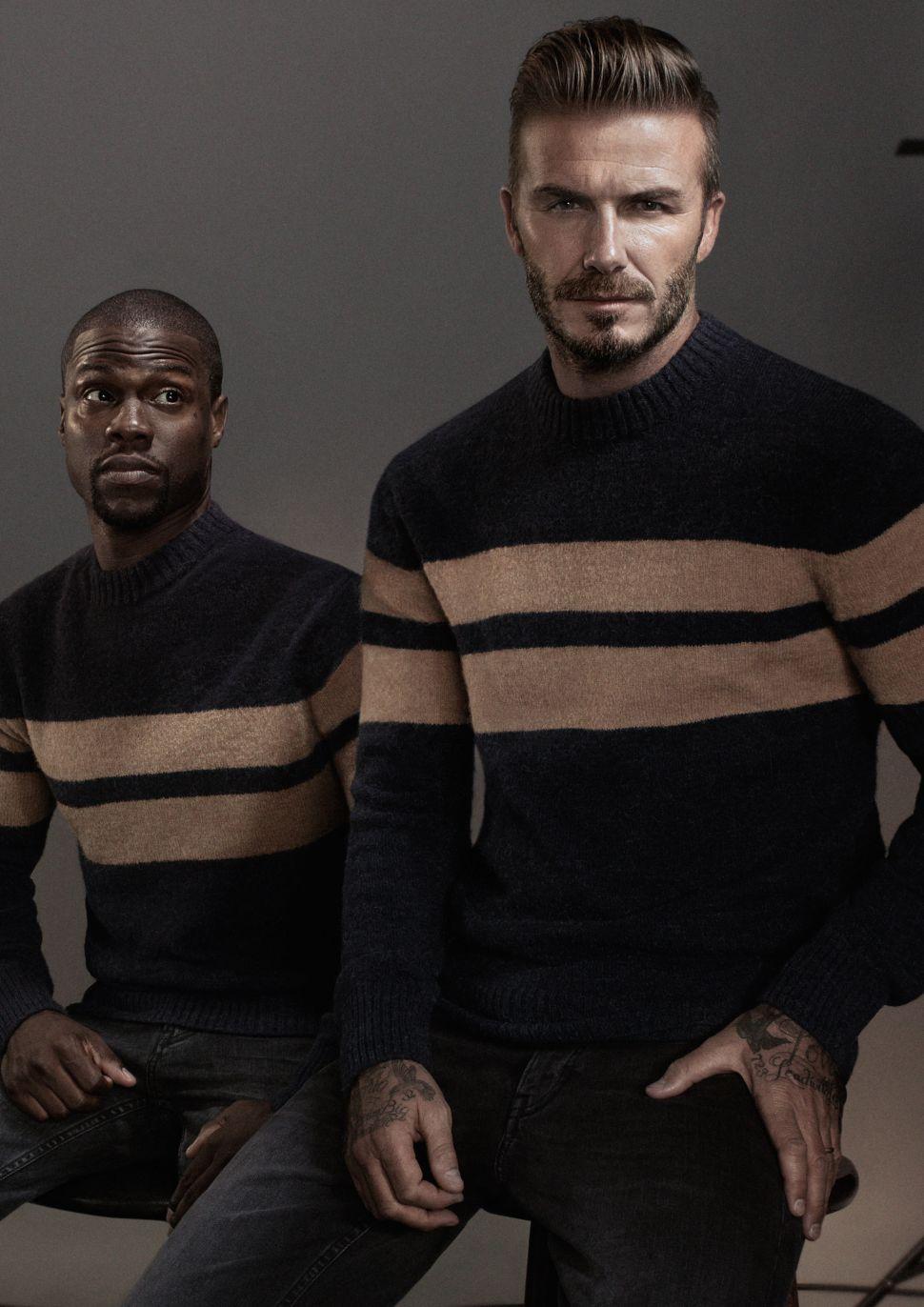 Kevin Hart, David Beckham (Photo: H&M).