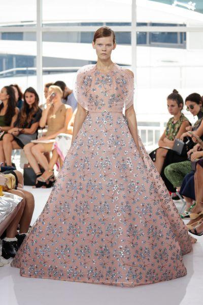 The finale dress at Delpozo (Photo: Courtesy Delpozo)
