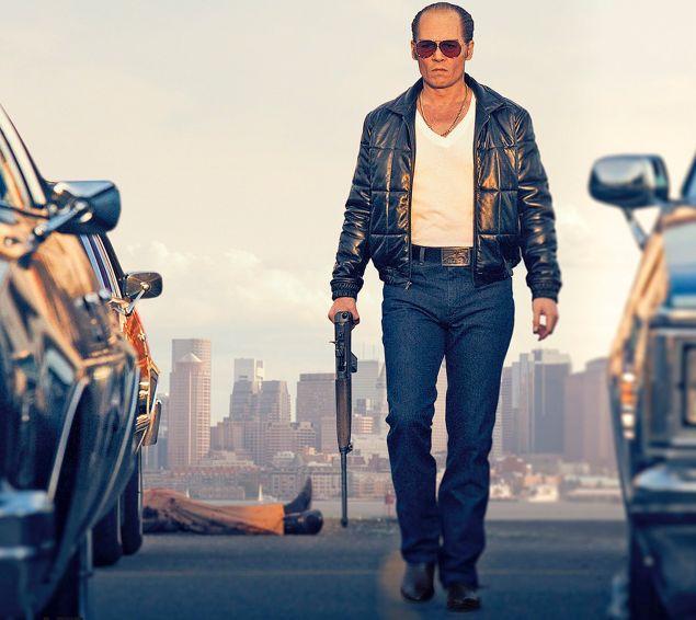 Johnny Depp stars as Whitey Bulger in Black Mass.