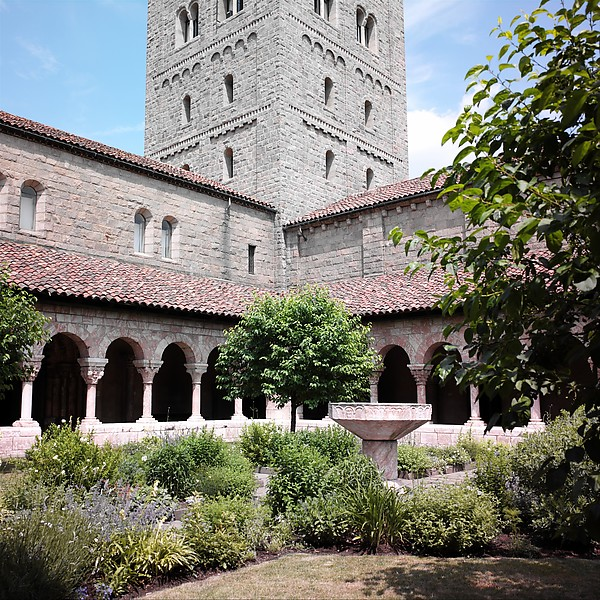 Cuxa Cloister at The Cloisters, Fort Tryon Park. (Photo: The Met)
