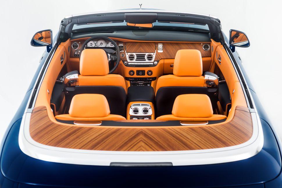 The Rolls-Royce Dawn (Photo: Rolls-Royce).