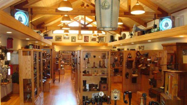 The main room of the JKL Museum of Telephony. (Photo: jklmuseum.com)