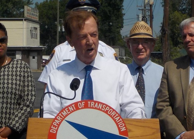 Jamie Fox during the second of his two stints as NJ Transportation Commissioner.
