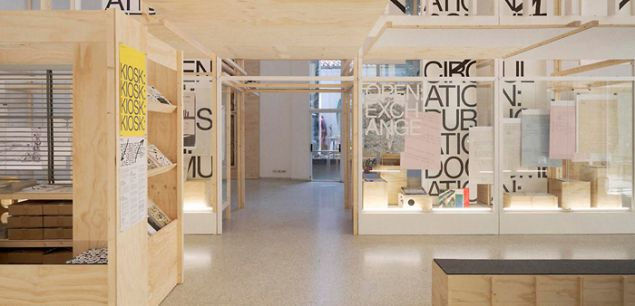 Open: A Bakema Celebration. Exhibition designed by Experimental Jetset, 2014; the Dutch entry to the Venice Architecture Biennale. Courtesy Cooper Hewitt