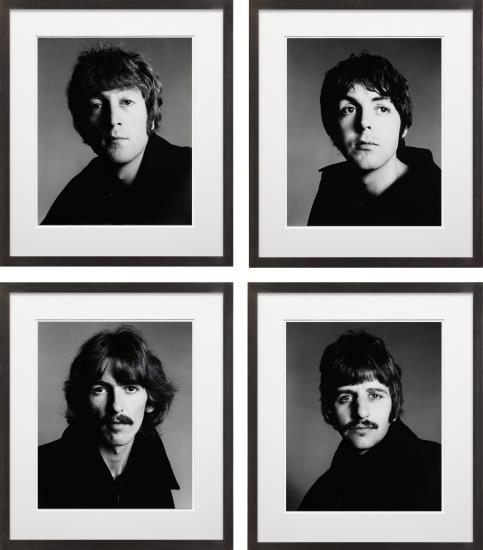 Richard Avedon, The Beatles, London, August 11, 1967.