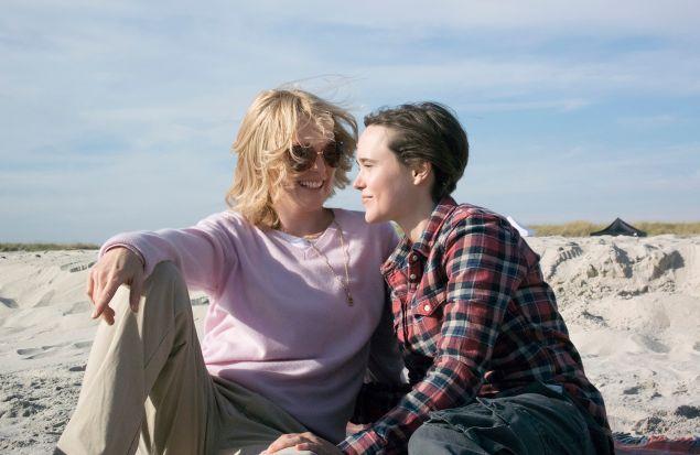 Julianne Moore, at left, stars alongside Ellen Page in Freeheld.