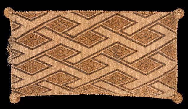 A cloth from Kongo. (Photo: Courtesy Metropolitan Museum of Art)