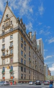 The Northern facade of the Dakota, completed in 1884 and still a charmer. (Kenneth Grant)