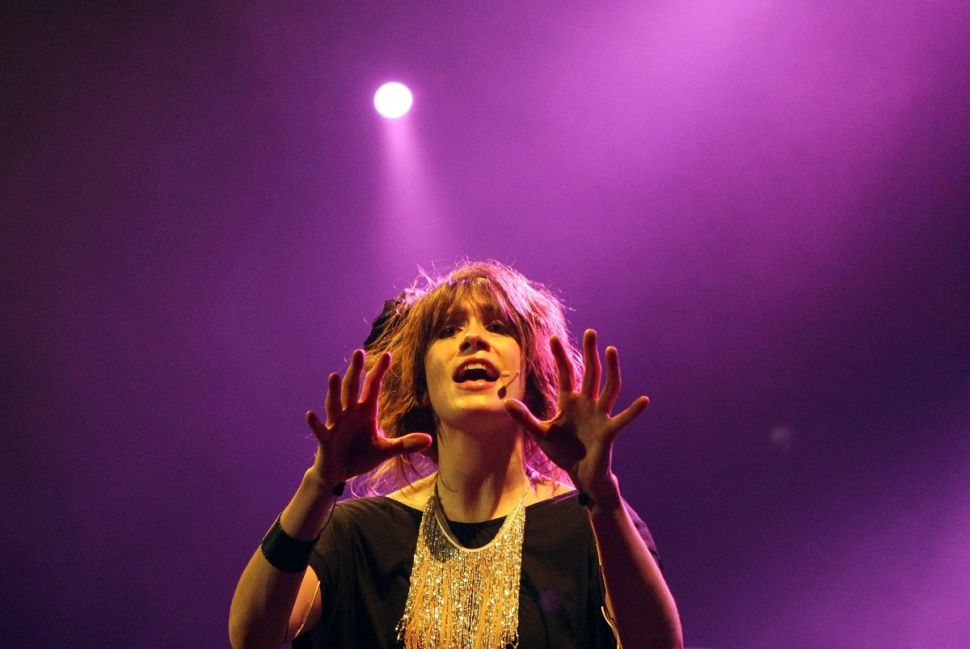 Imogen Heap: music payment systems visionary. (Photo: Mark Metcalfe/Getty Images)