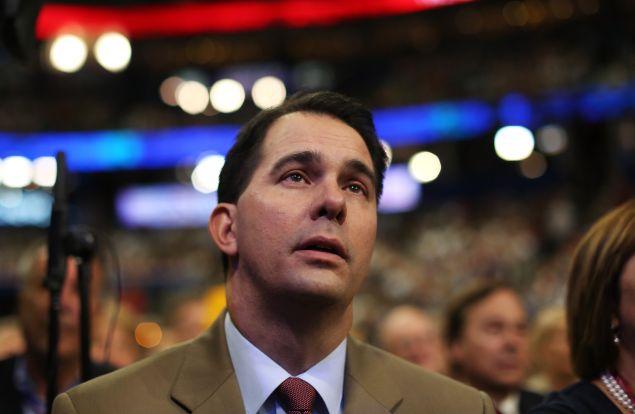 Wisconsin Gov. Scott Walker. (Photo: Spencer Platt/Getty Images)