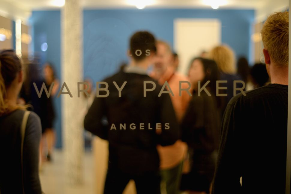 Warby Parker's store opening in The Standard, Hollywood on August 15, 2013 in Los Angeles, California. (Michael Buckner/Getty Images for Warby Parker)