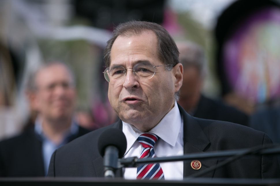 Congressman Jerrold Nadler. (Photo: Jason Carter Rinaldi/Getty Images)