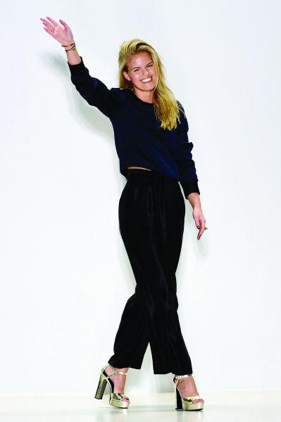 Designer Georgine Ratelband. (Photo: Getty Images)