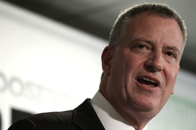 Mayor Bill de Blasio. (Photo: Win McNamee/Getty Images)