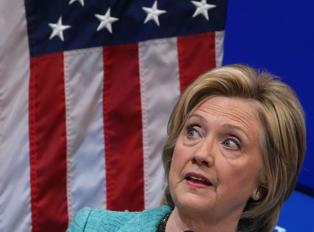 Hillary Clinton. (Photo: Mark Wilson for Getty Images)