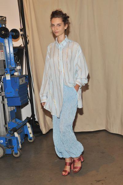 A Rachel Comey model (Photo: Getty Images)
