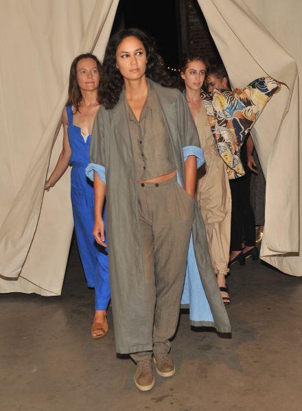 Rachel Comey models (Photo: Getty Images)