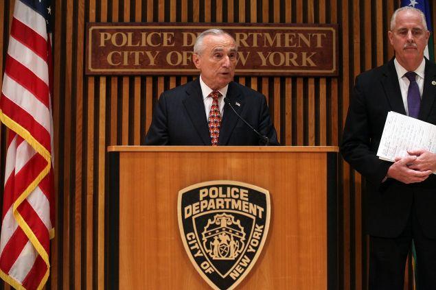Commissioner Bill Bratton (Photo: Spencer Platt for Getty Images)