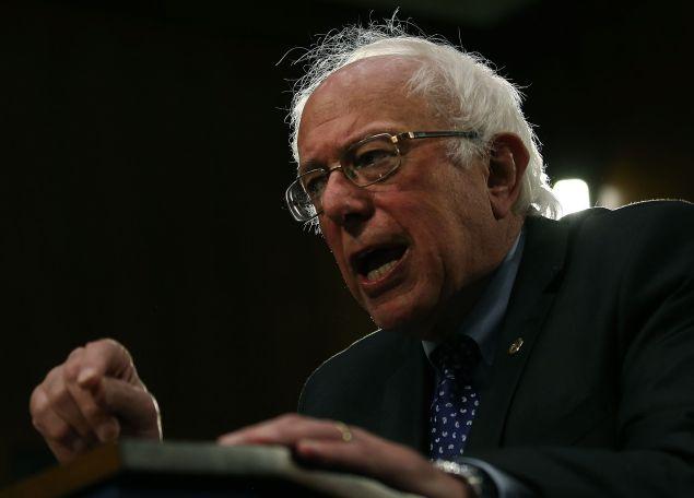 Vermont Sen. Bernie Sanders. (Photo: Mark Wilson/Getty Images)